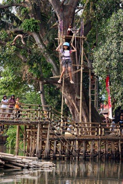 Wisata Situ Cipondoh Tangerang Raya